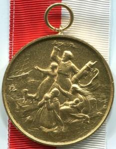 Goldene Medaille für Rettung aus Seenot