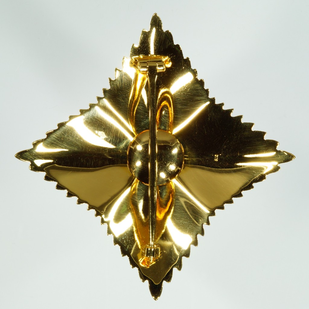 Stern zum Grossen Verdienstkreuz mit Stern und Schulterband, verliehen an Dr. Josef Stingl.