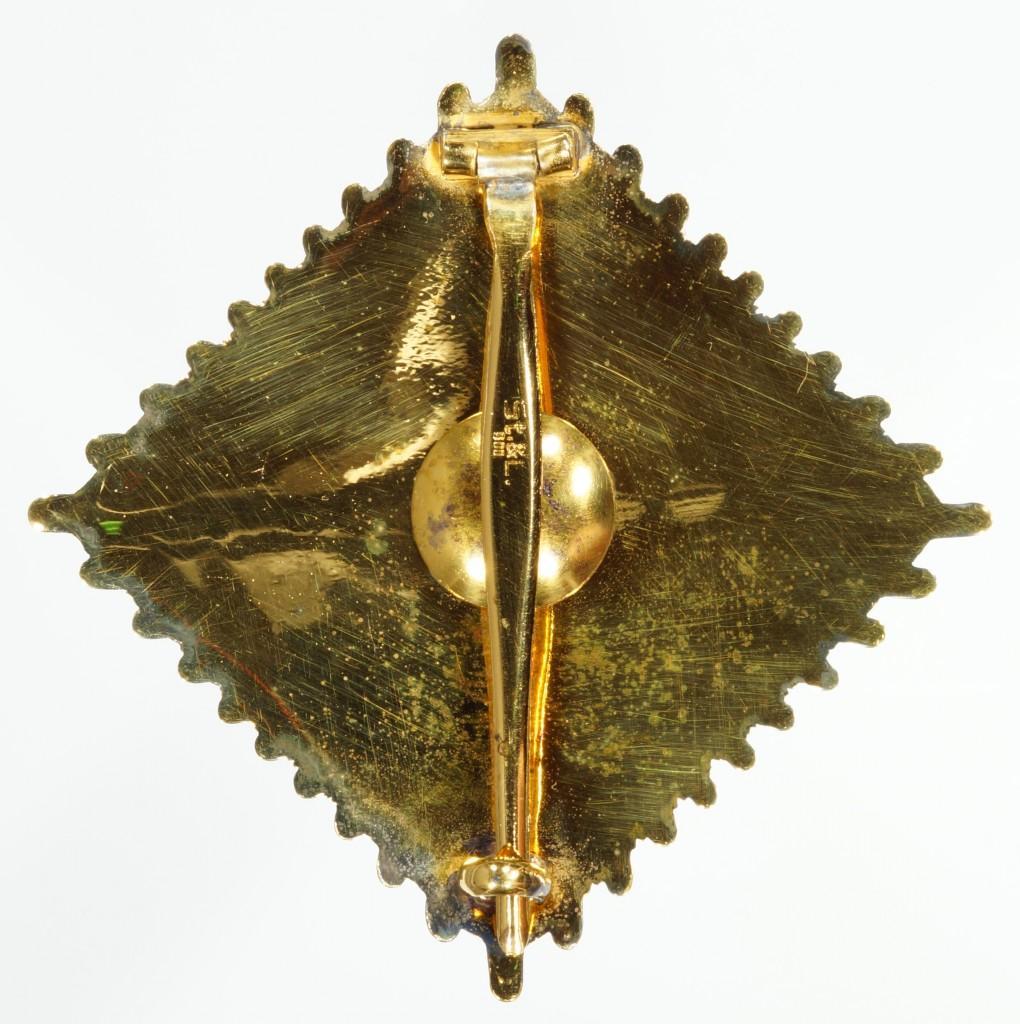 Stern zum Grossen Verdienstkreuz, verliehen an Dr. Josef Stingl.
