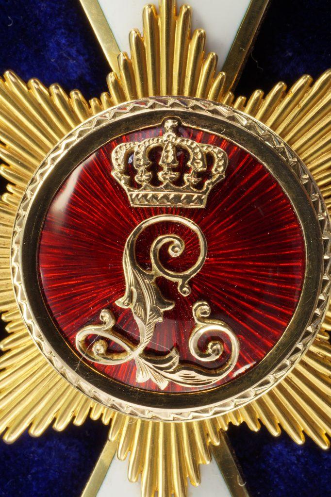 Medaillon der Rückseite im Detail